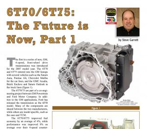 6T70/6T75: The Future is Now, Part 1
